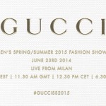 Live Stream Gucci's SS15 Runway Show