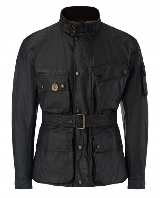 Beckham for Belstaff_Marshfield Jacket_Black_1