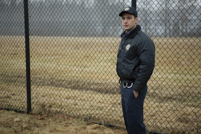 "Matt McGorry in a scene from Netflix's ""Orange Is the New Black"" Season 2. Photo credit: Jessica Miglio for Netflix."