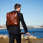 Lotuff Leather Revives All-Leather Backpack