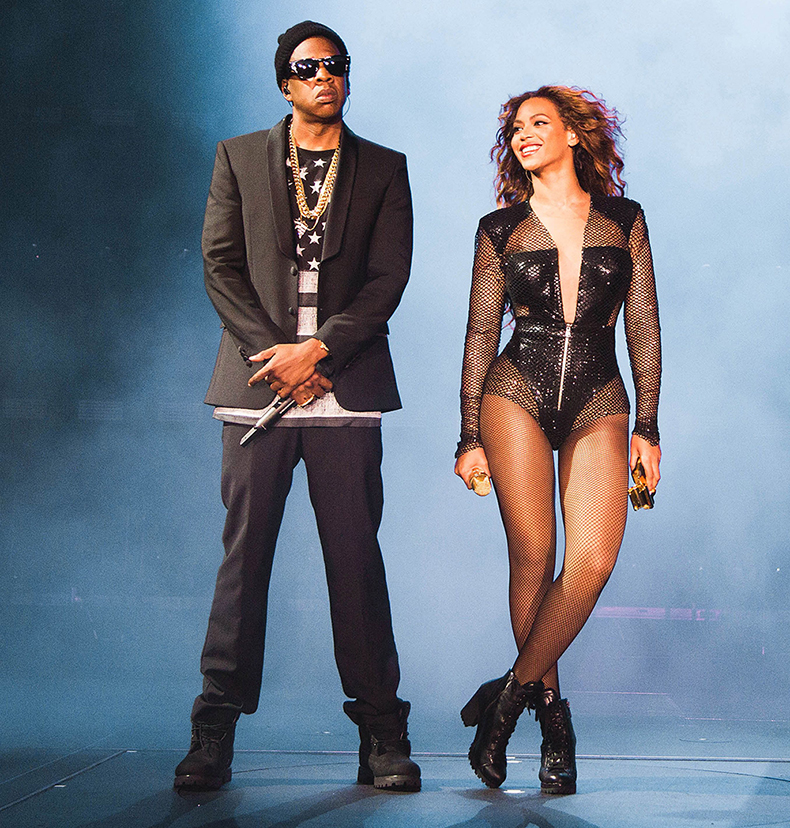 Beyonce and Jay Z on tour ap