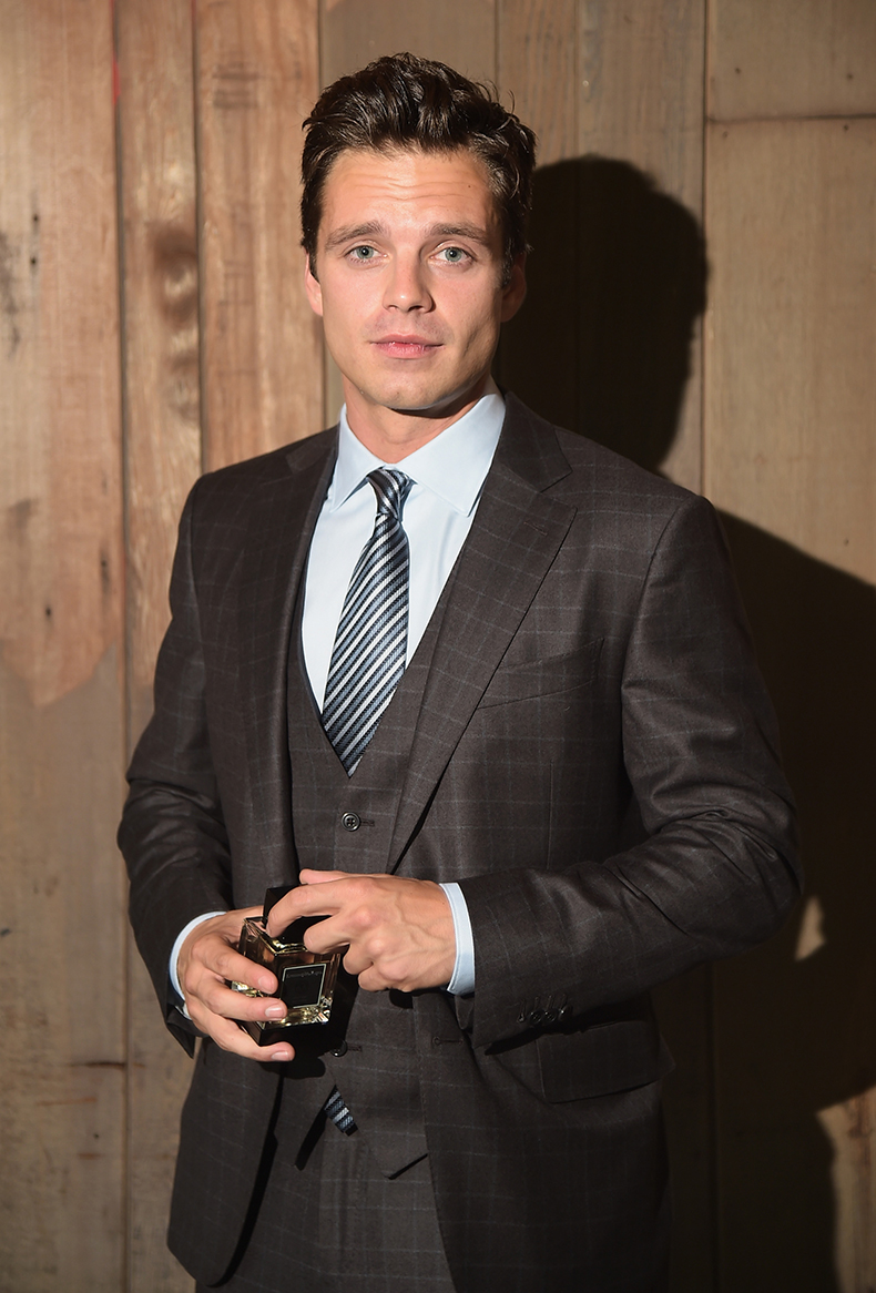 Sebastian Stan For Ermenegildo Zegna At Shakespeare In The Park