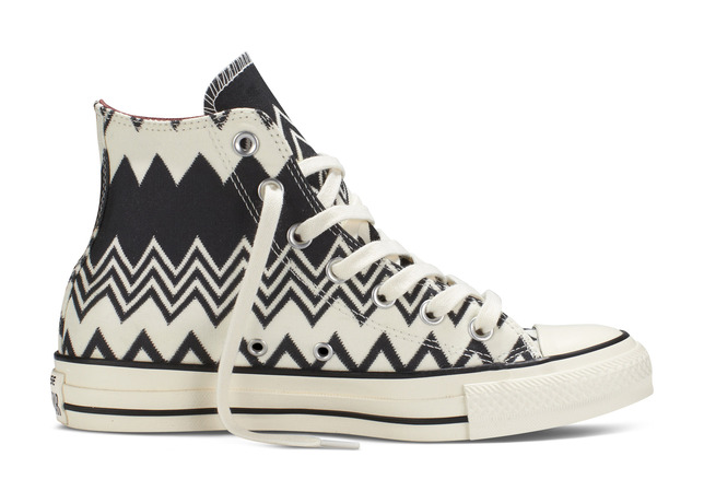 ad25064b3810 Converse Changes Chuck Taylor s Stripes with Missoni Collaboration