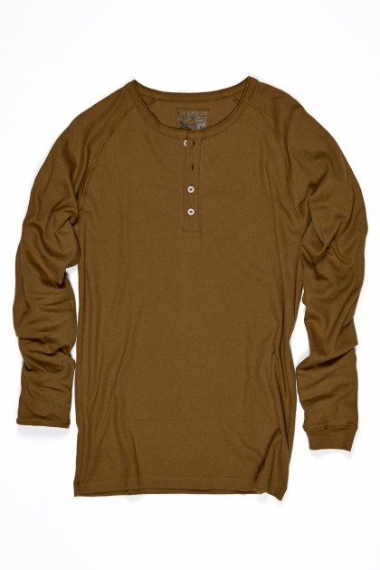 300 Series Henley Olive