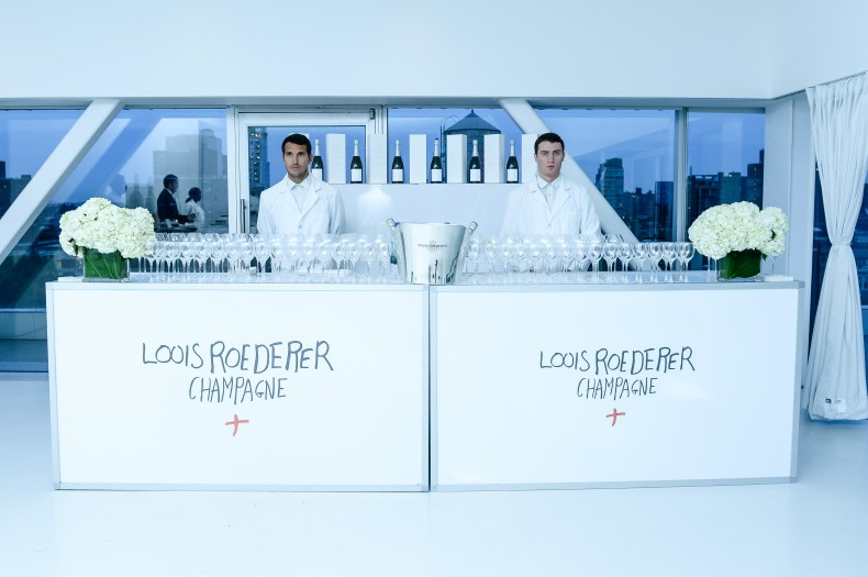 CHAMPAGNE LOUIS ROEDERER and PHILIPPE STARCK Launch BRUT NATURE 2006