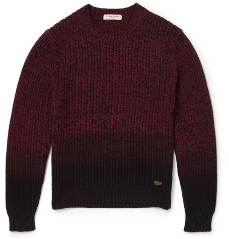 Layering Burberry London Sweater