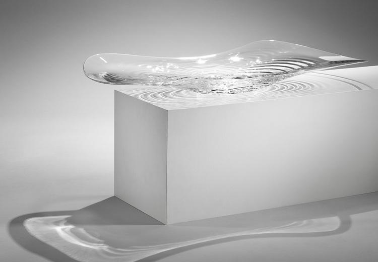 Zaha Hadid - Bowl 'Liquid Glacial' - David Gill Gallery