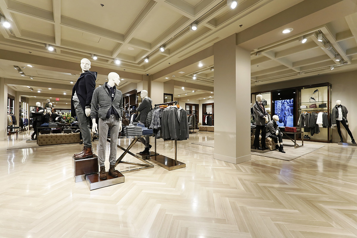 Massimo Dutti South Coast Plaza boutique