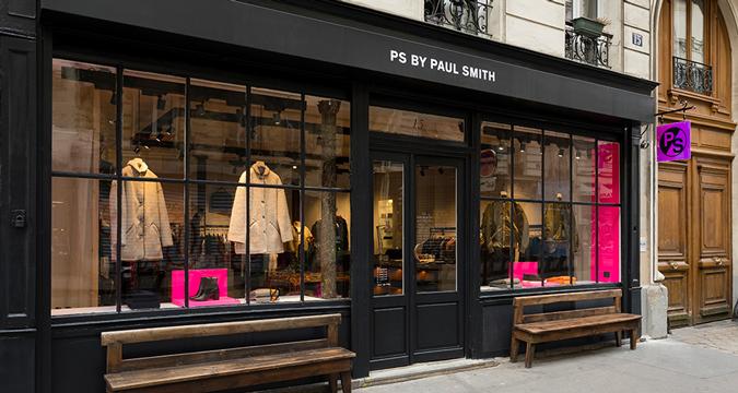 Paul Smith Paris Shops