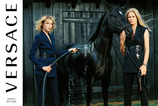 Versace x Bruce Weber