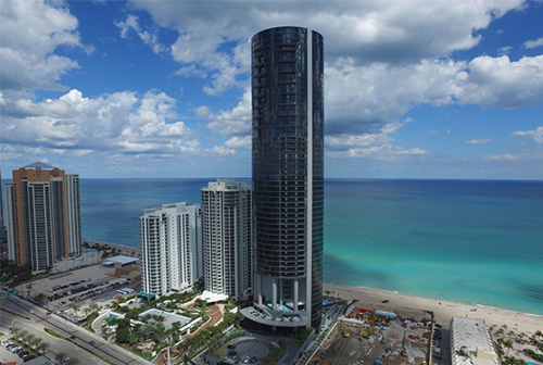 a4d0f60b755 The Porsche Design Tower Brings Contemporary Luxury to Miami s Sunny Isles.  ‹ ›