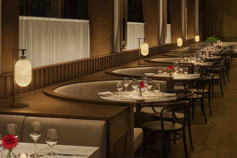 Dining Room at Shanghai Tavern