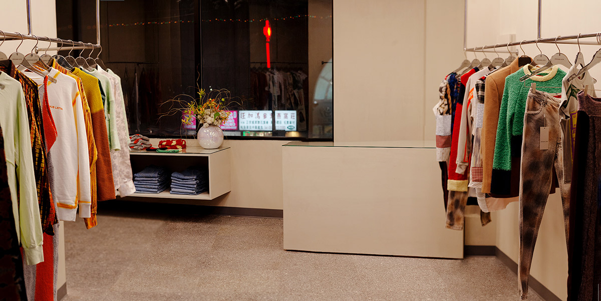 Eckhaus Latta New York Store Images- by Thomas McCarty 2