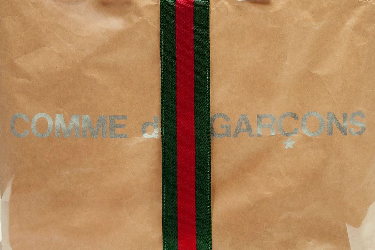 f51601ae4d8 Gucci Partners with Comme Des Garcons on Holiday BagEssential Homme ...