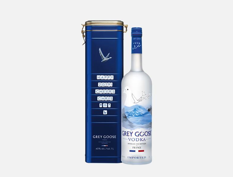 5. Grey Goose Tin