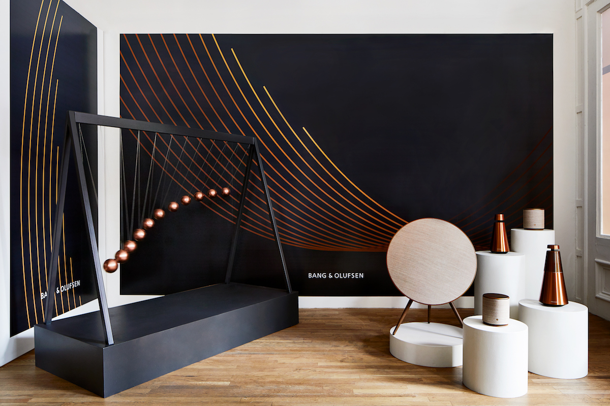 bang olufsen musical pop up takes sohoessential homme. Black Bedroom Furniture Sets. Home Design Ideas