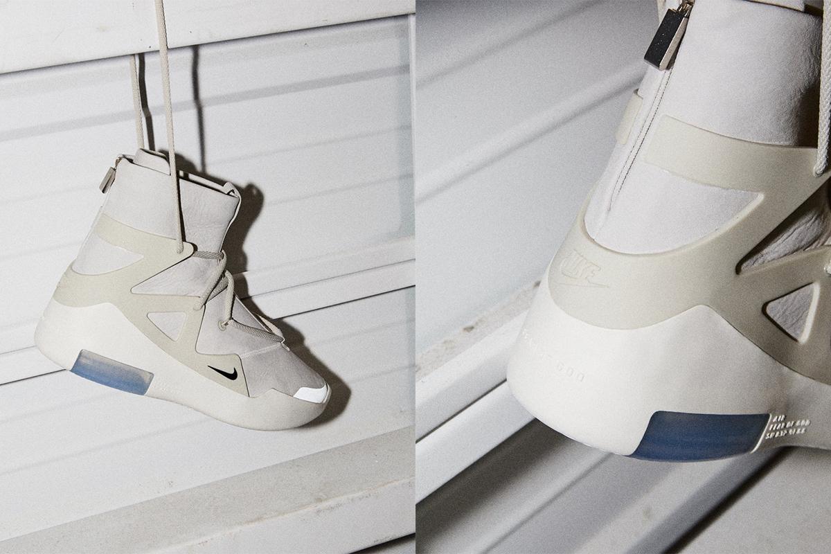 size 40 0a2df 5d7dc UNKNWN Raffles Off Nike Air x Fear of God 1 Sneaker