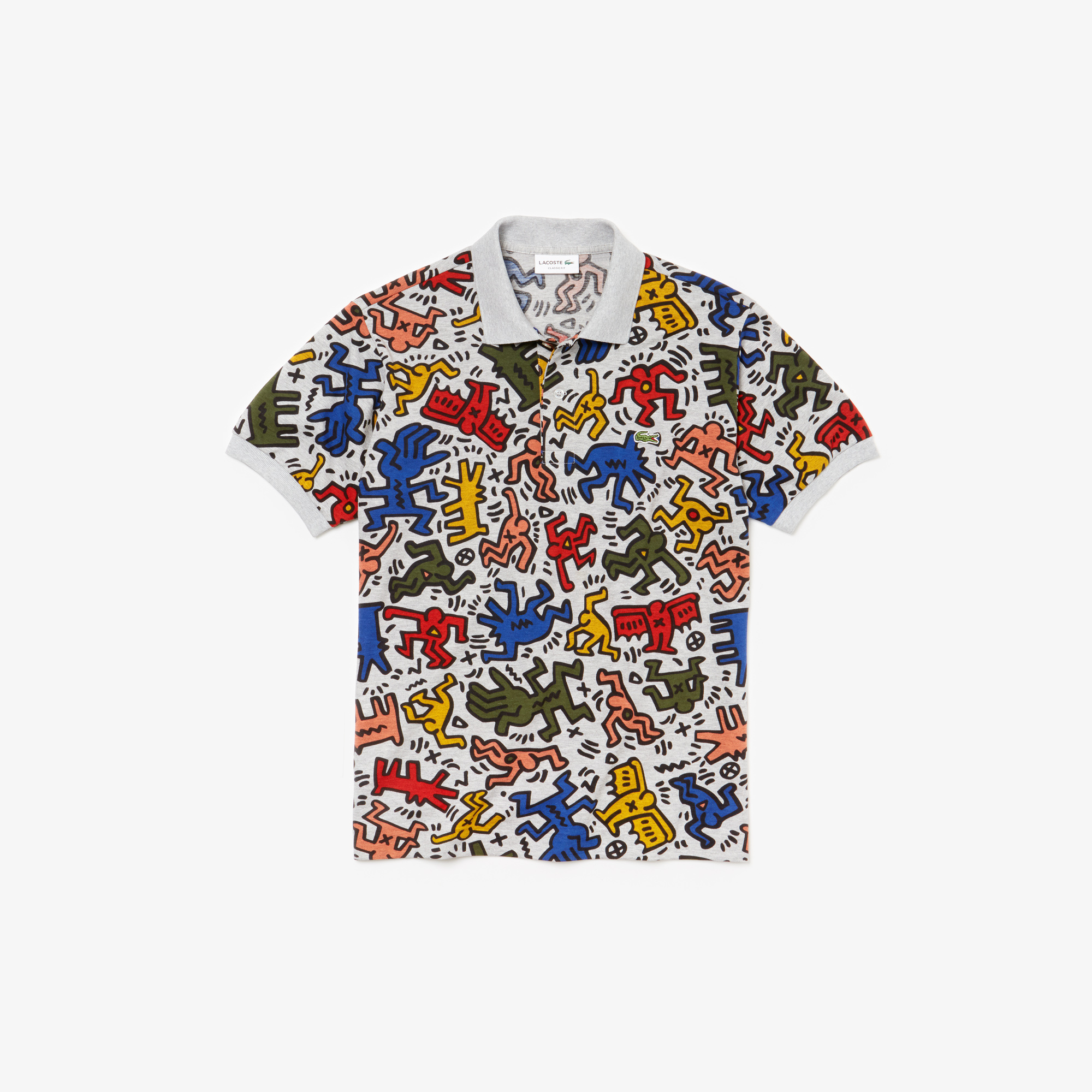 Short Sleeved Relaxed Fit Keith Haring Polo $165