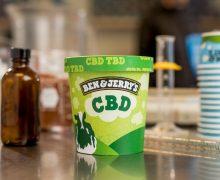 Ben and Jerry CBD Ice Cream