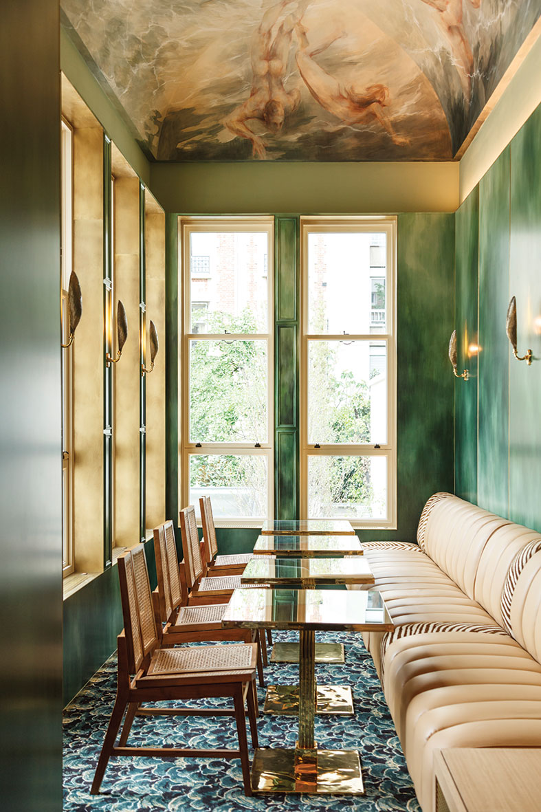 Toro & Liautard design BB Restaurant with chef Jean Imbert