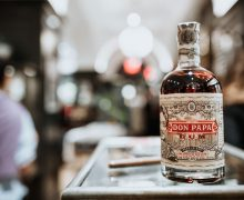 bottle of don papa rum