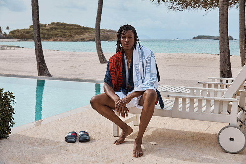 KITH x Tommy Hilfiger campaign in Mustique