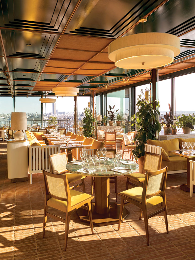 Le Perruche rooftop by Toro & Liautard