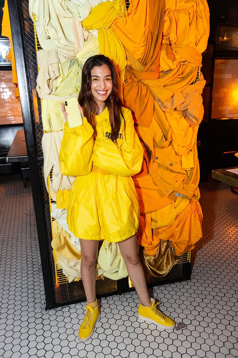 Marina Testino yellow campaing #yellowlikealemon