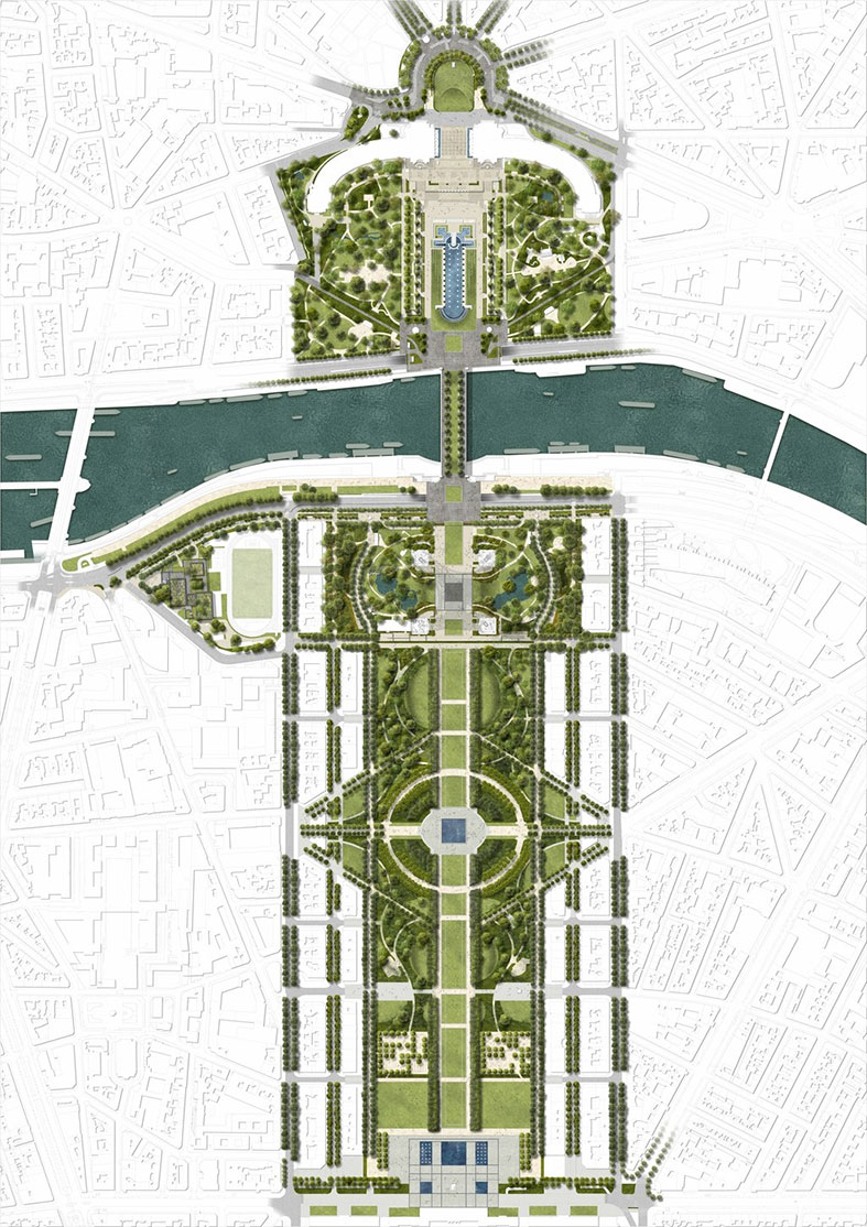 paris eiffel tower project plan
