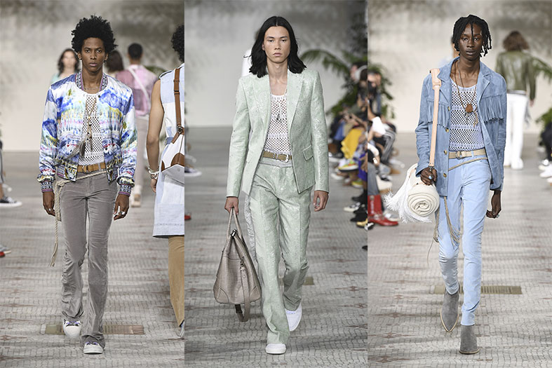 Mike Amiri presents his spring summer 2020 collection