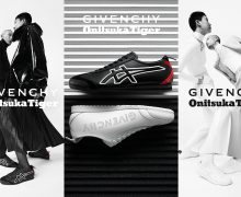 Givenchy and Onitsuka Tiger Collaboration at Pitti