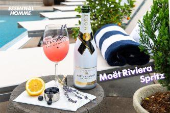 Moët Riviera Spritz cocktail with Adam Rippon