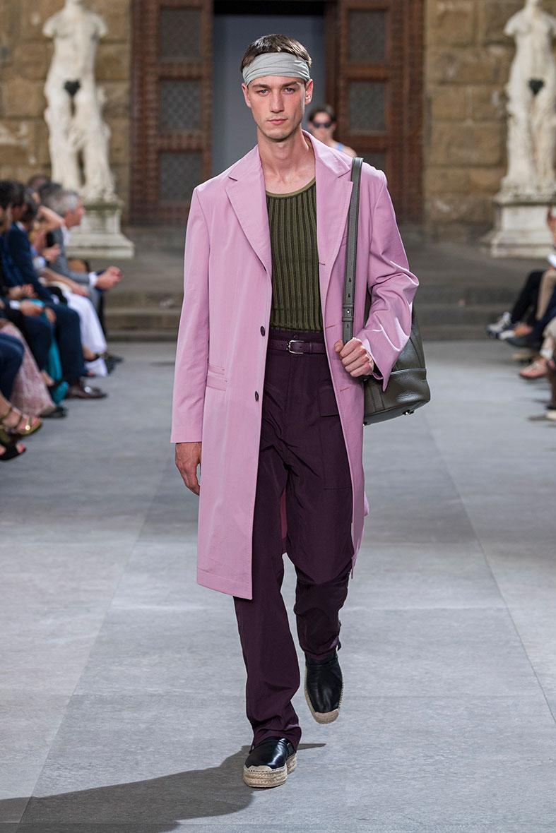 Salvatore Ferragamo Spring/Summer 2020 Collection at Pitti