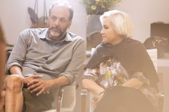 Silvia Fendi and Luca Guadagnino for Fendi