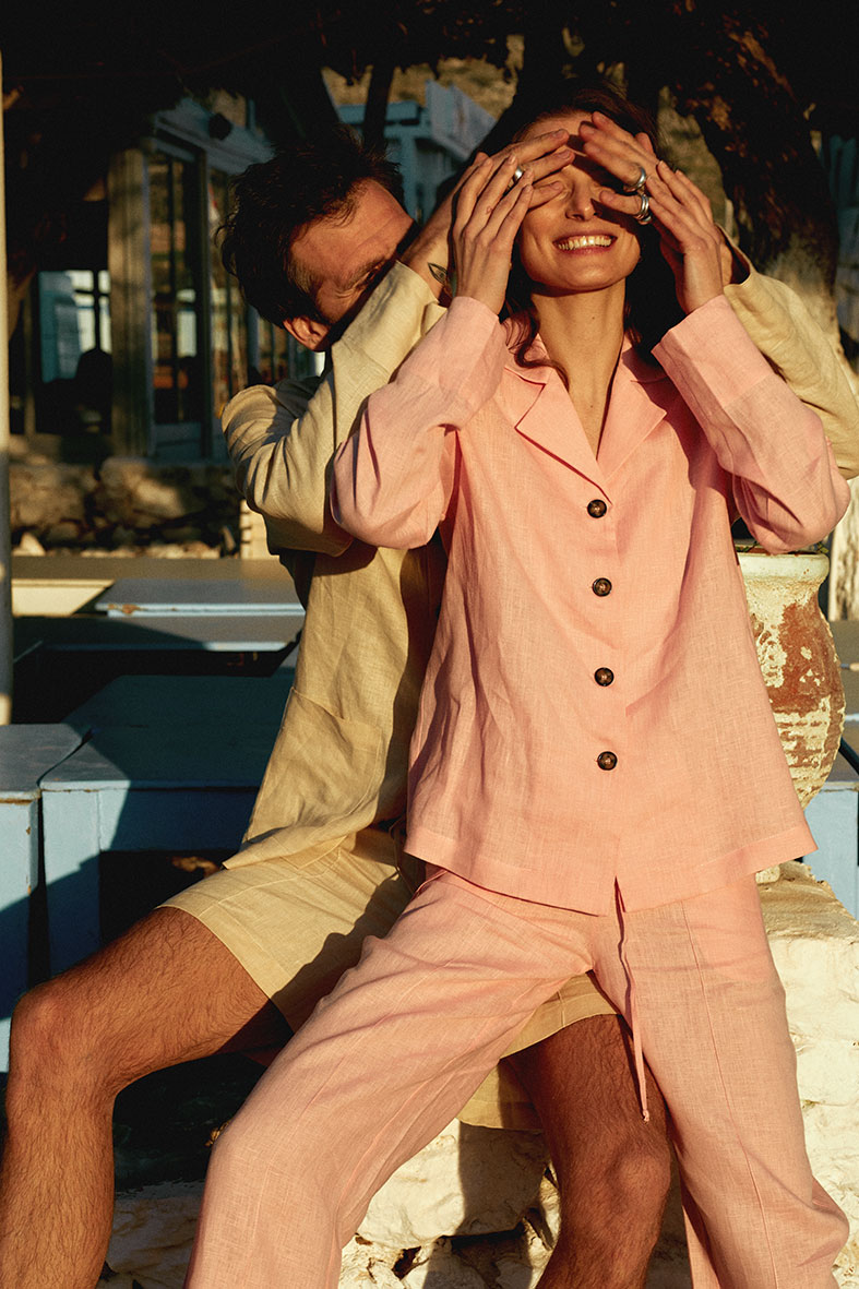 The Sleeper launches it's summer 2020 linen campaign