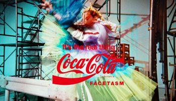 Coca Cola Facetasm collab collection