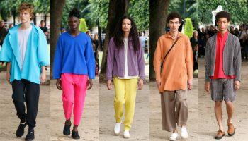 homme plisse issey miyake spring summer 2020 menswear paris show