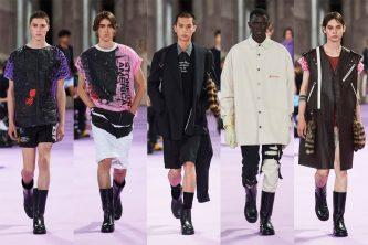 raf simons spring summer 2020 menswear show