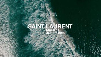 saint laurent men's spring summer 2020 show malibu