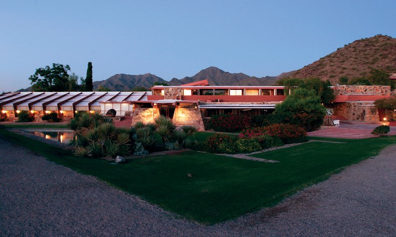 Taliest West by Frank Lloyd Wright
