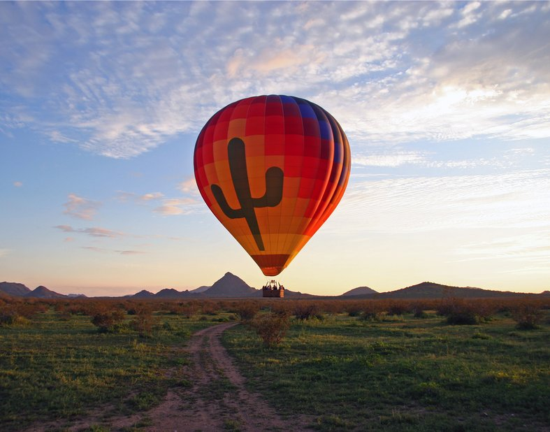 Hot Air Balloon Exedition in Scottsdale