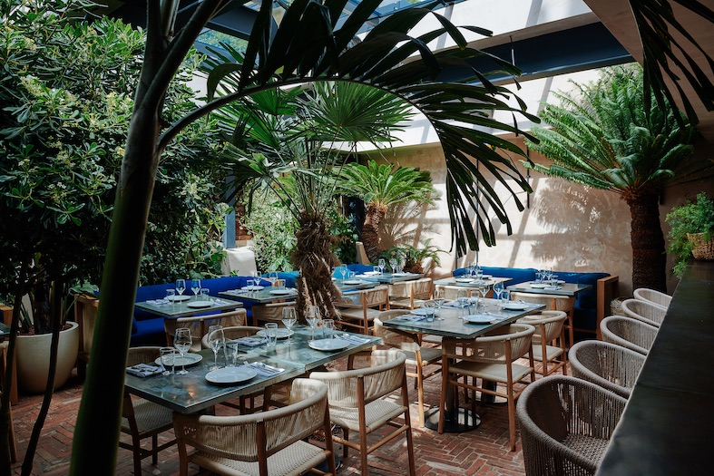 Gold Notting Hill Restaurant Opens in London