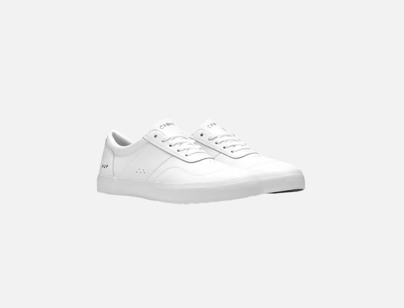 HUF white sneakers