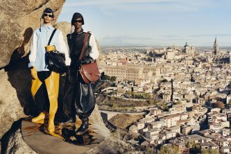 Loewe's latest campaign shot by Tyler Mitchell