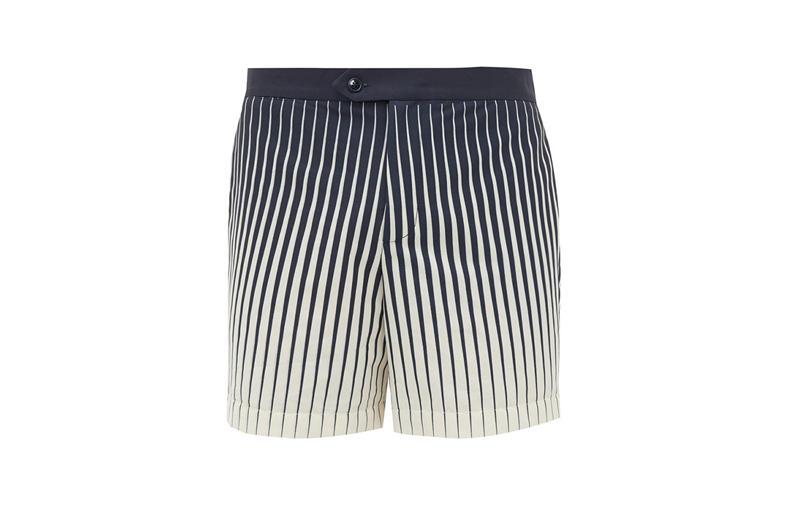 odyssee Valbonne striped swim short