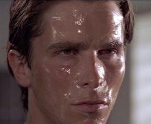 oily skin summer patrick bateman american psycho skincare routine