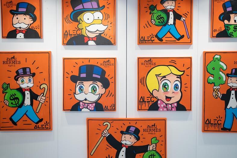 artist Alec Monopoly