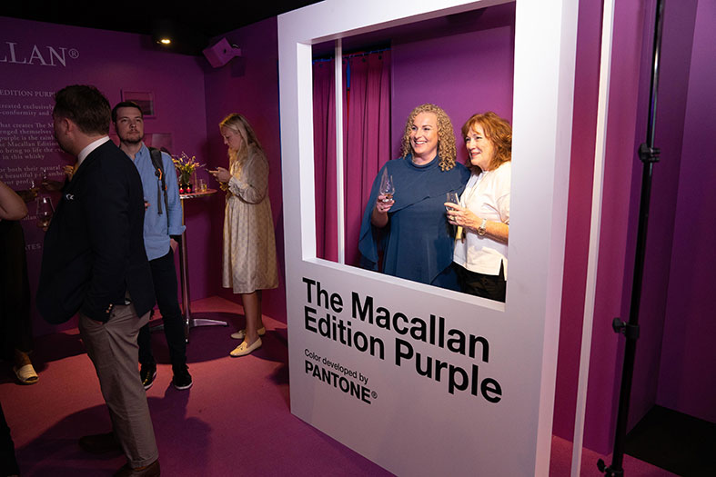 The Macallan x Pantone