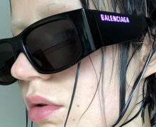 balenciaga led glasses