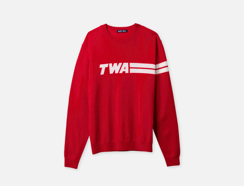 TWA sweater